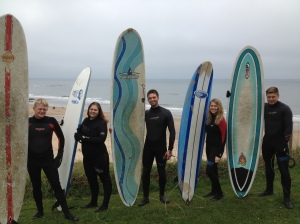 Surfing the North Sea